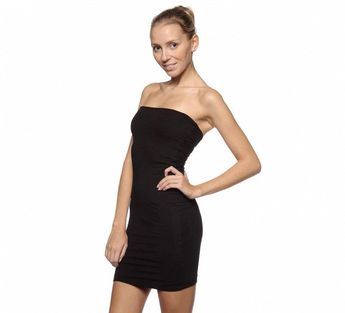 Dámské černé koktejlové mini šaty Guess  d2f7cb34ae