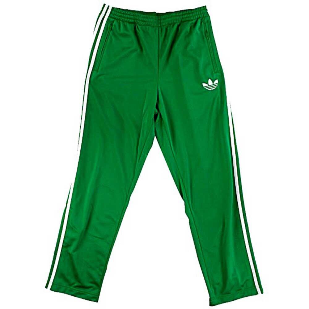 c5700b908d54 Pánské zelené tepláky Adidas