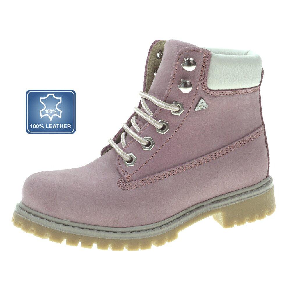Dámské světle růžové kožené farmářky Beppi  854dfeb722
