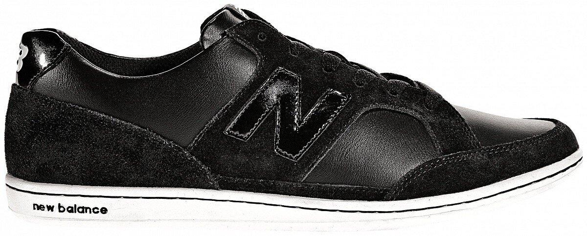 Dámské černé kožené tenisky New Balance  8f1c0e9174