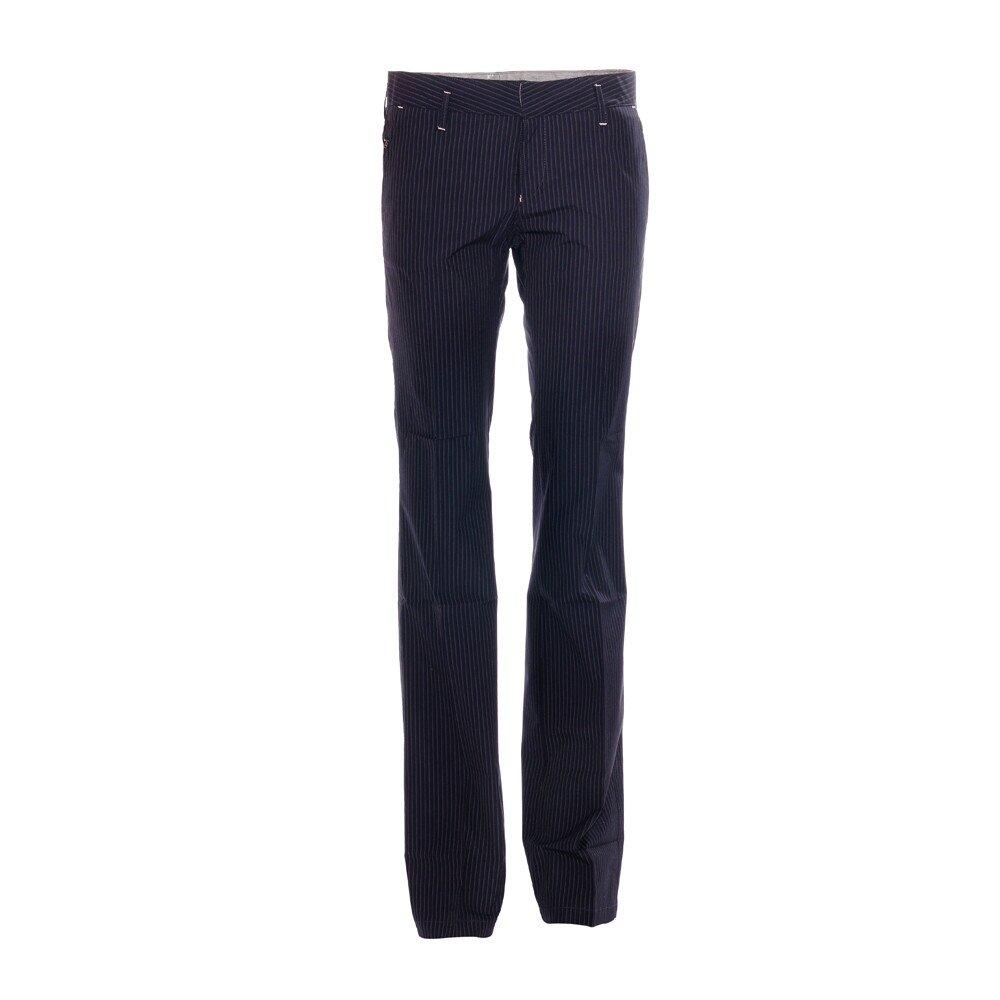 af6dd45826b7 Elegantní dámské kalhoty značky Rare s jemným proužkem