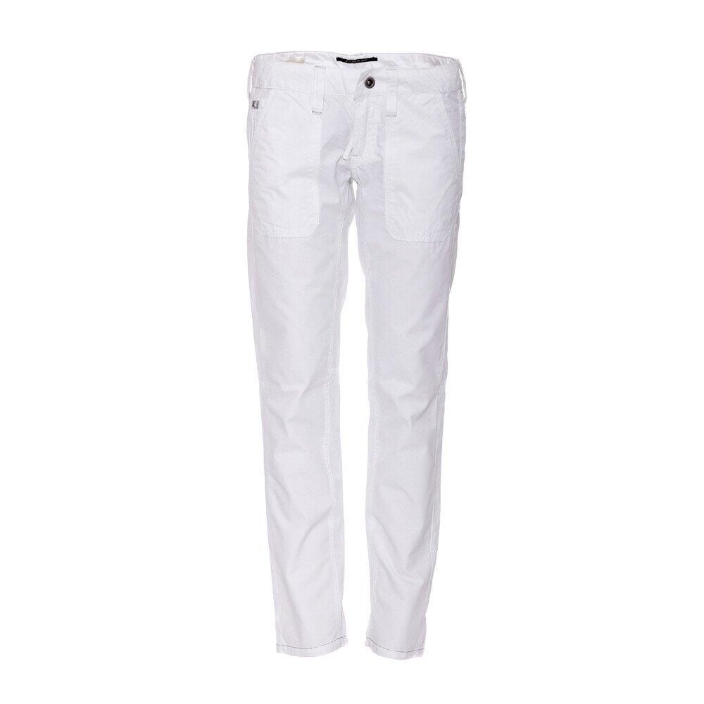 Dámské plátěné kalhoty značky Rare v bílé barvě  9cd2581185
