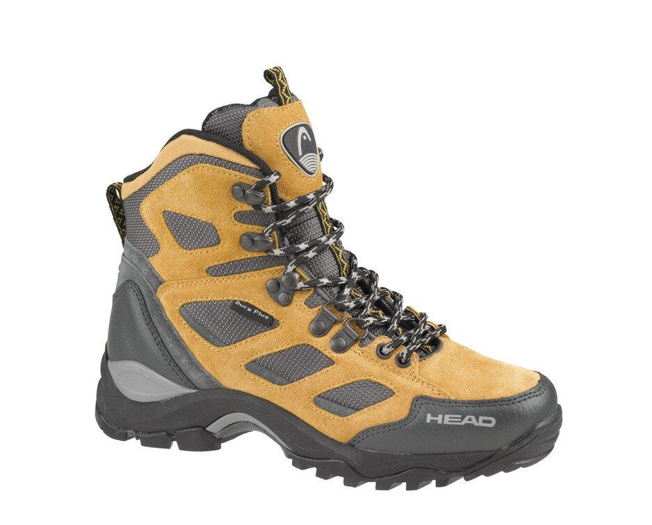 Pánské světle hnědé vysoké trekingové boty Head  6f5b3f56ea
