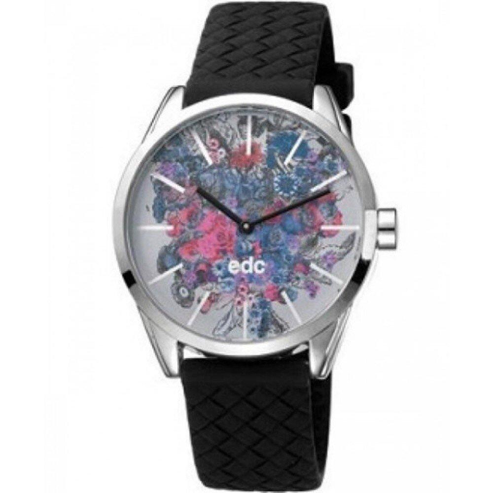 Dámské hodinky EDC by Esprit s květinovým ciferníkem  e963ffaf3b