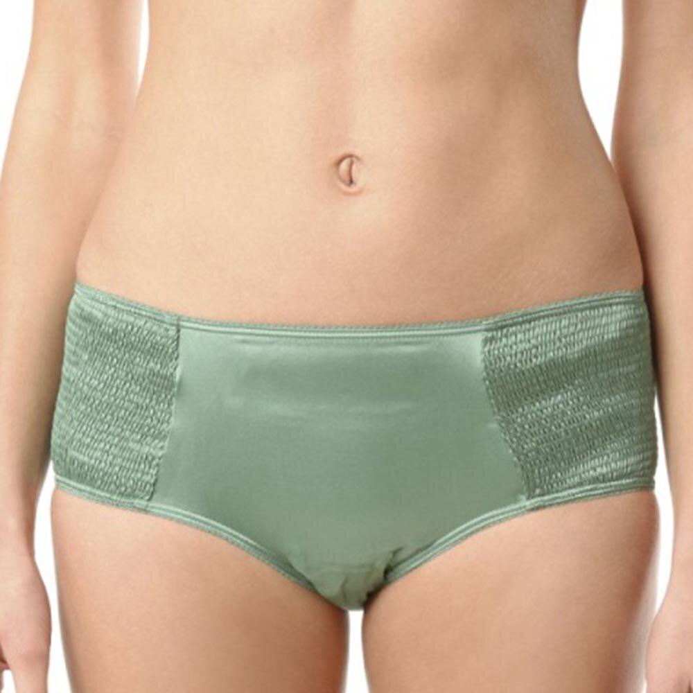 39aebb9f916 Dámské zelené hedvábné kalhotky Kenzo