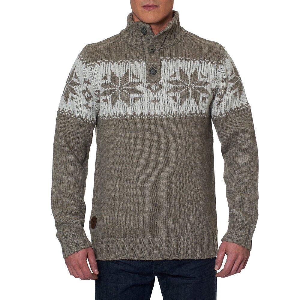 Pánský svetr se stojáčkem a knoflíky Paul Stragas  9c76b27419