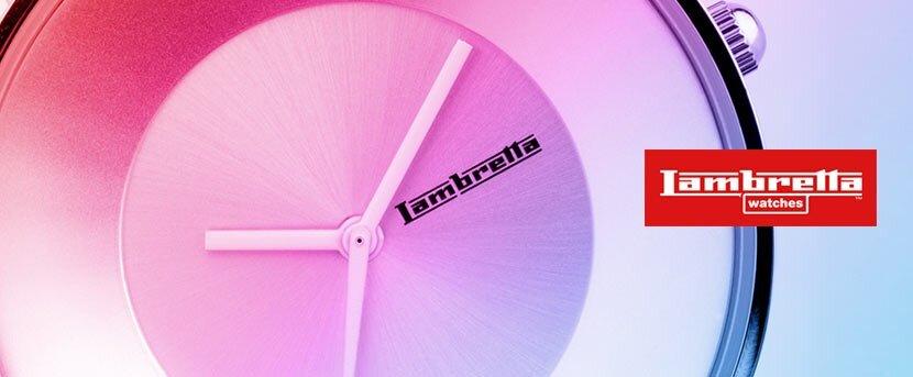 Lambretta - barevné designové hodinky  552dc50e92d