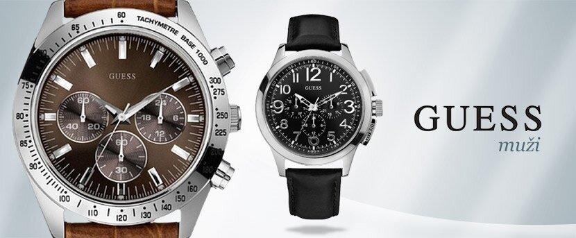 Pánské hodinky Guess  0e4b6fc7d9