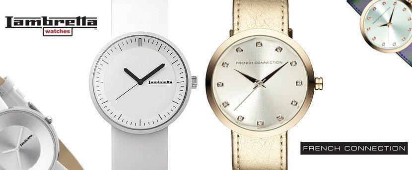 Dámské hodinky French Connection a Lambretta  1ecd61c1f7a
