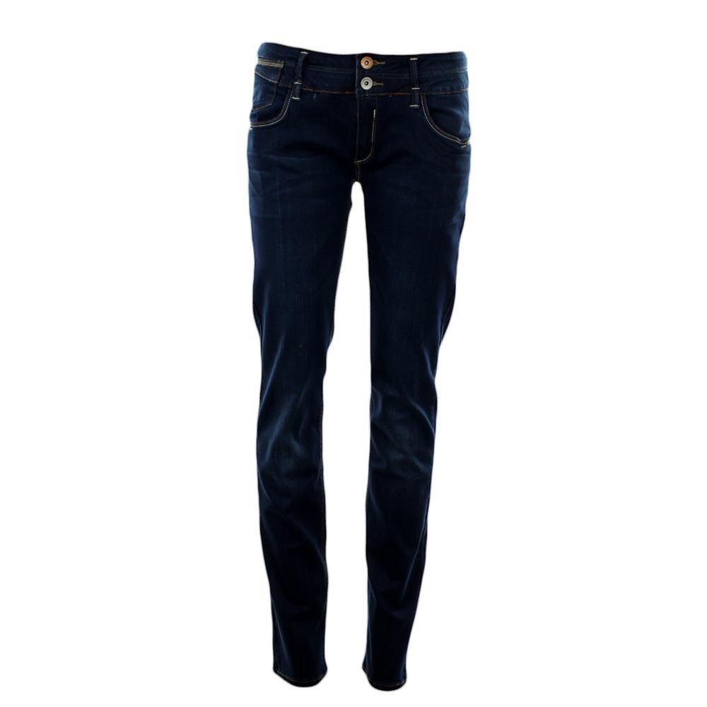 6de4a8fdaab Dámské tmavě modré slim džíny Exe Jeans