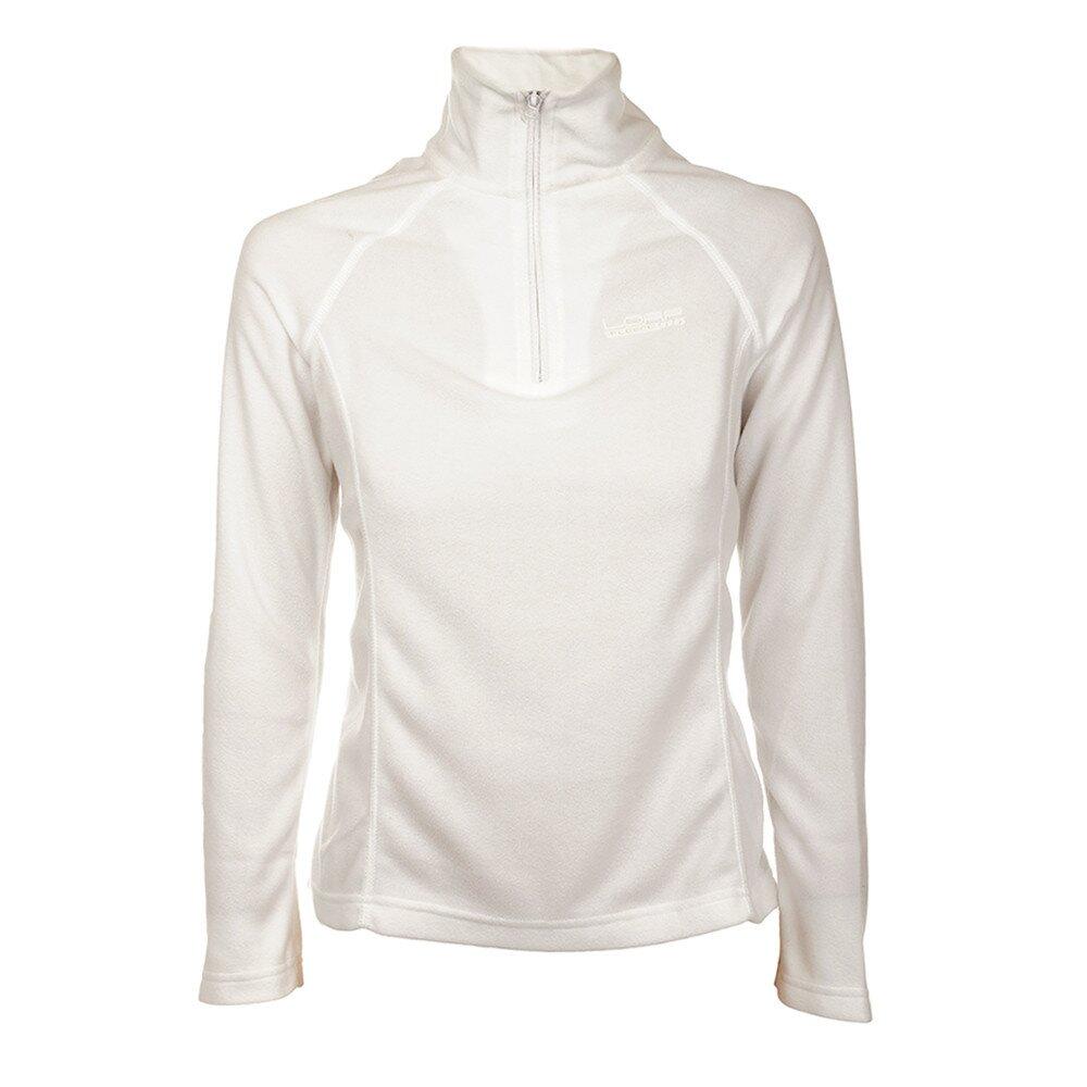 Dámská bílá fleecová mikina Loap  fb971729d25