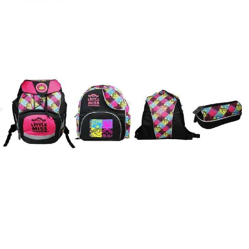 SET MISS SUNSHINE 3-5 třída (Školní batoh+Dětský batoh+Sportovní vak+Pouzdro)   551beb5331