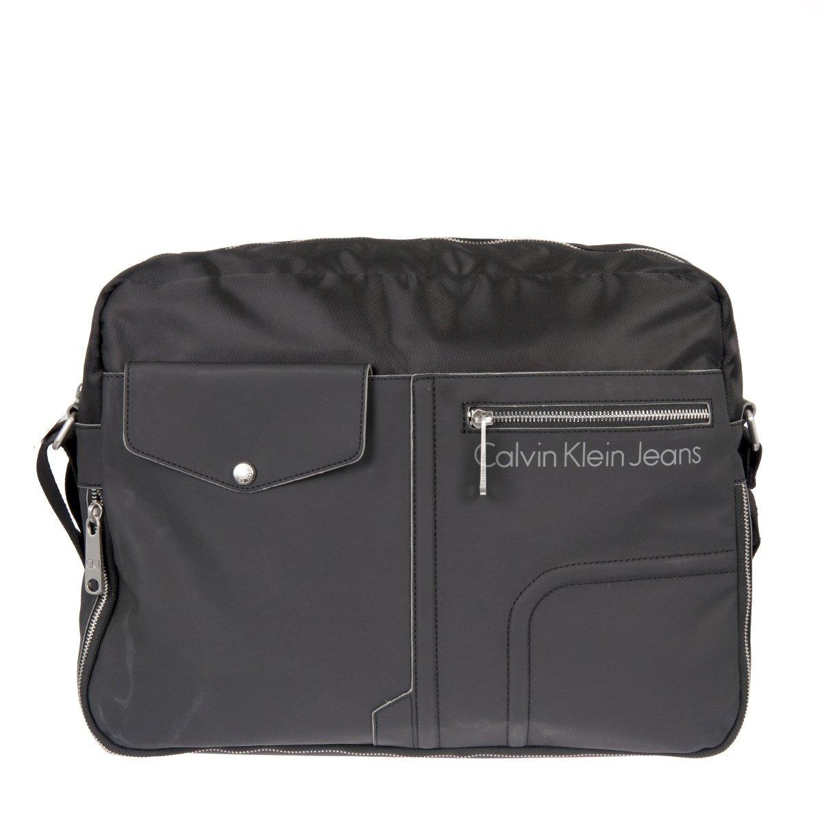 46fc9032e7 Pánská antracitová městská taška Calvin Klein Jeans