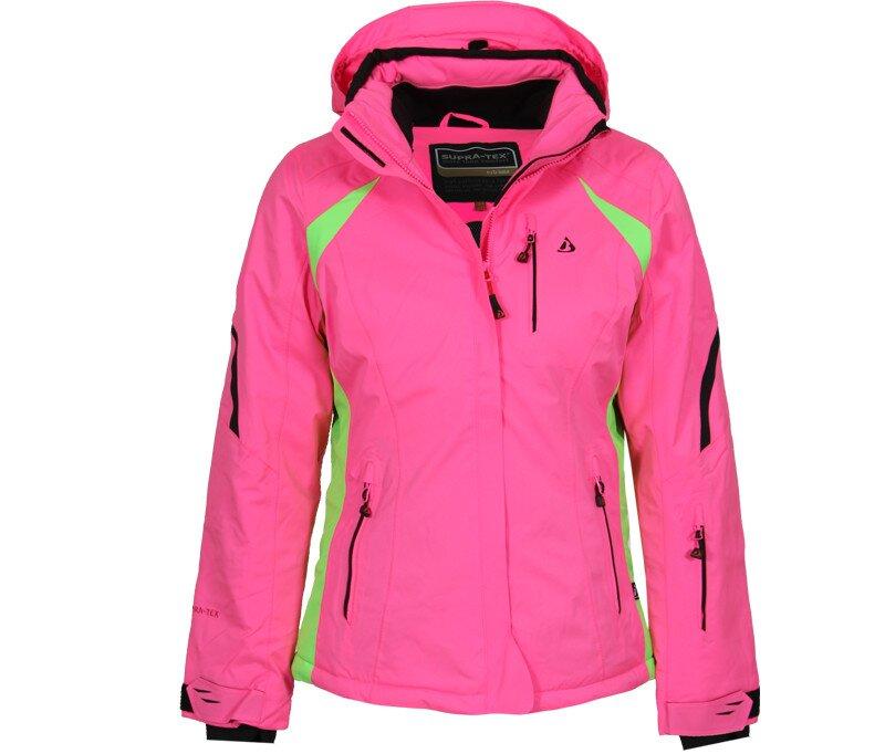Dámská růžová lyžařská bunda Bergson  d2f8220e58