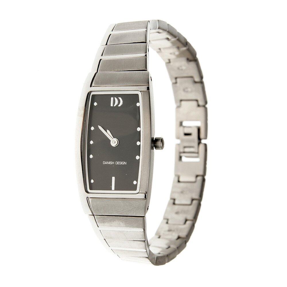 16bdea2dddb Dámské titanové hodinky Danish Design s černým ciferníkem
