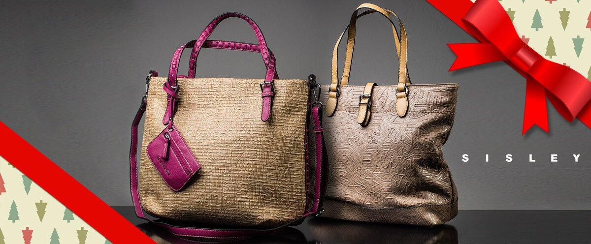 Stylové dámské kabelky Sisley  509bb740b64