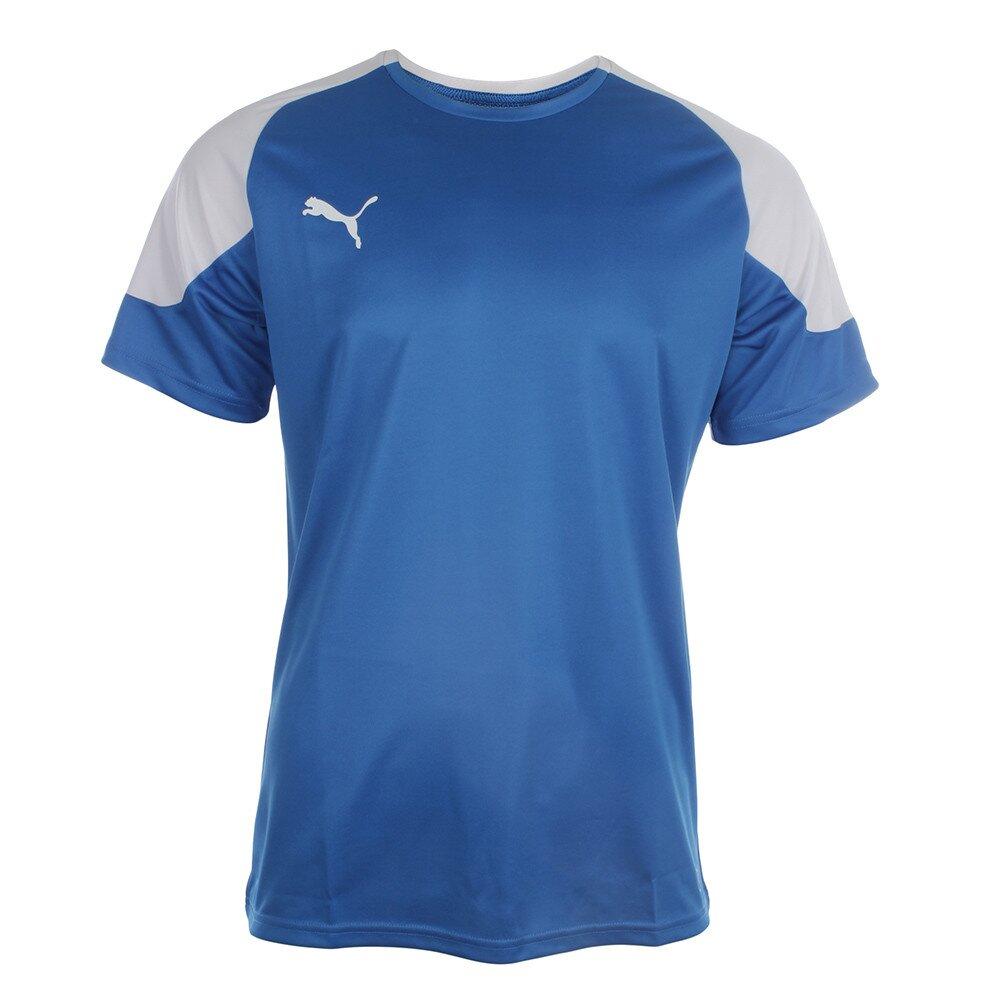 Pánské modro-bílé sportovní tričko Puma  68ba6c4ae1d