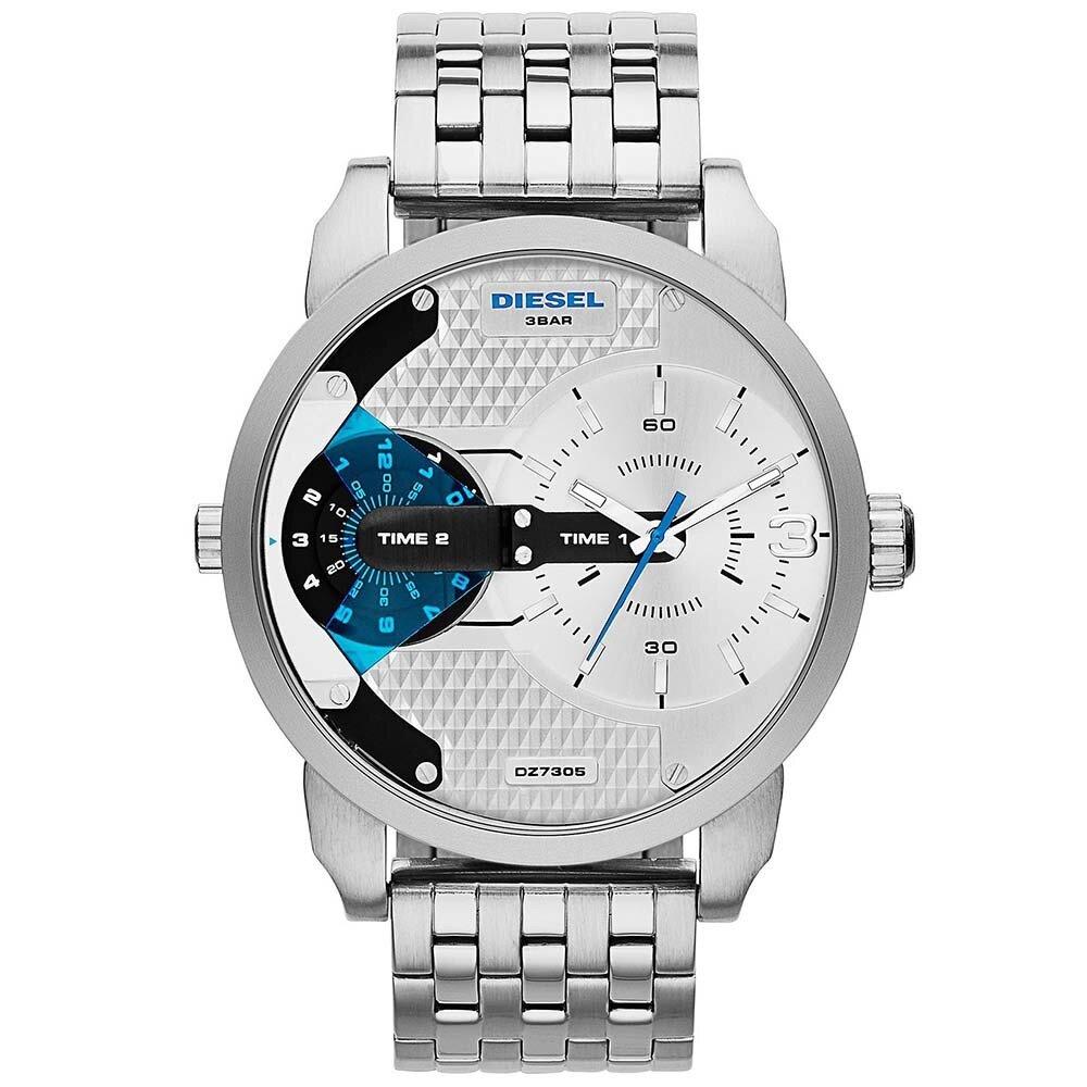 c24f26ffe93 Pánské ocelové hodinky ve stříbrné barvě Diesel