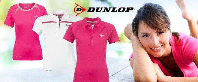 56545fd75cf Dobře střižená značková dámská trička Dunlop