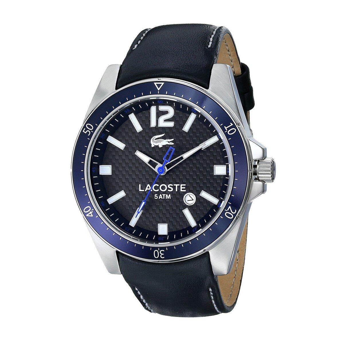 646ba0dd84d Pánské hodinky Lacoste Seattle černé