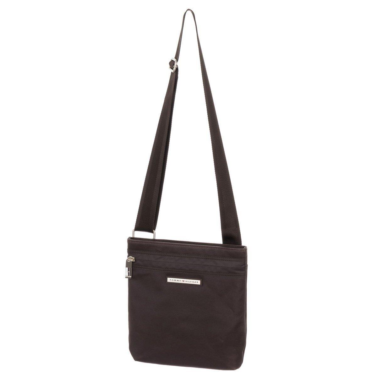 848af068b1 Pánská hnědá taška s kapsou na zip Tommy Hilfiger