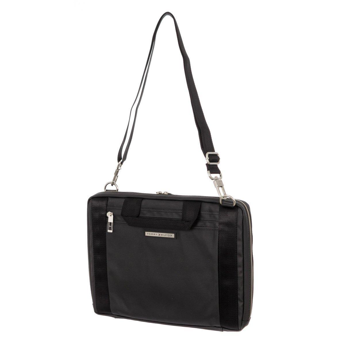 003434593c Pánská černá obdélníková taška přes rameno Tommy Hilfiger