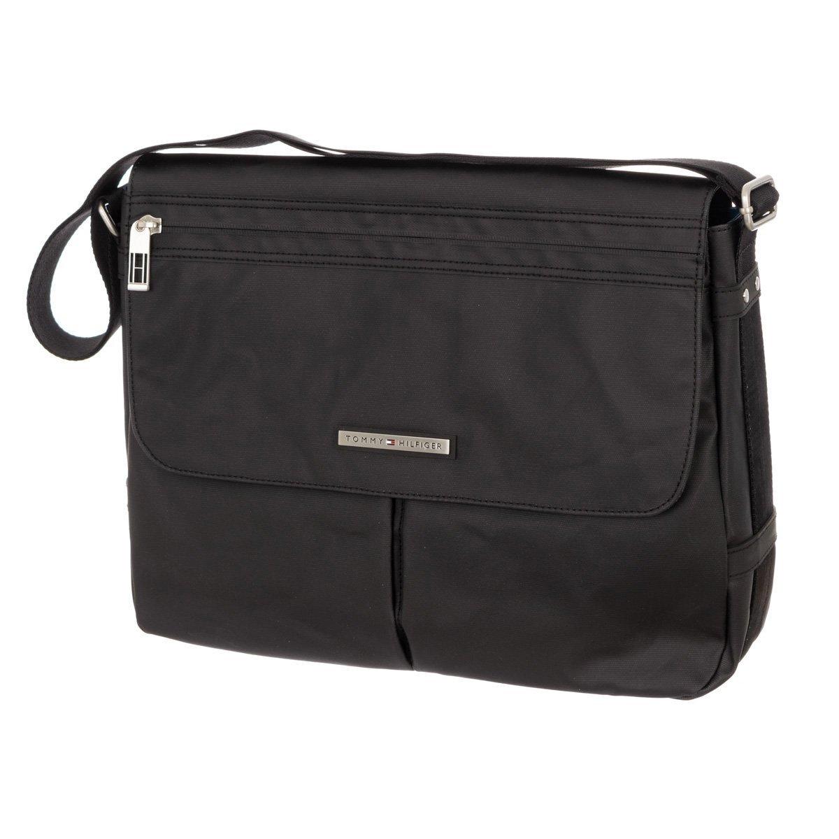 0d9c4a3873 Pánská černá taška se zipovou kapsou Tommy Hilfiger