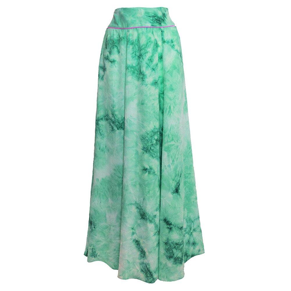 49dd2d55d8c Dámská dlouhá zelená sukně Virginia Hill