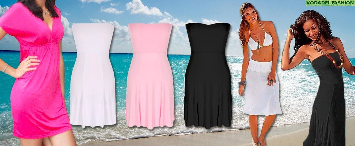 ad32417db027 Dámské letní šaty