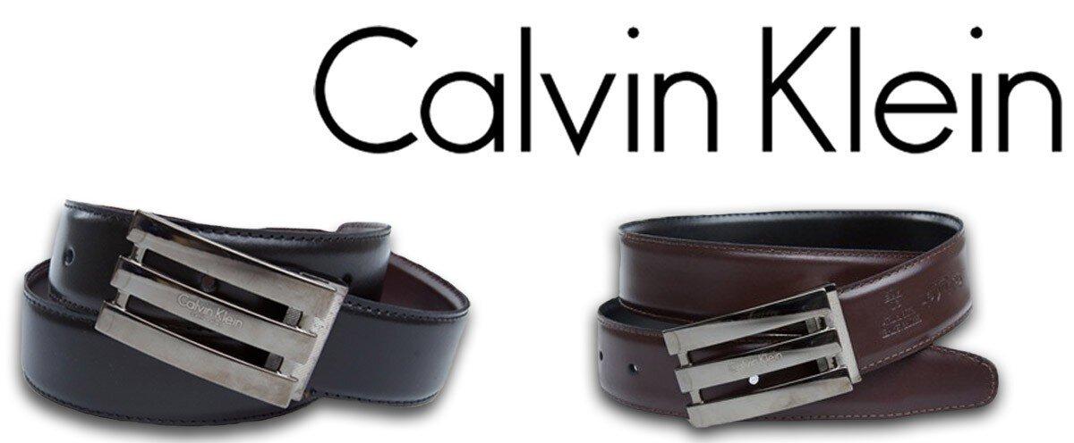 fbfda5865736 Luxusní opasky z pravé kůže Calvin Klein