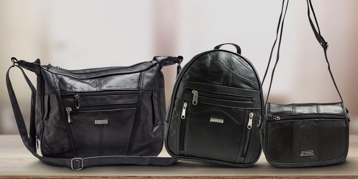 Dámské kožené kabelky a tašky Stefano  3204b857783