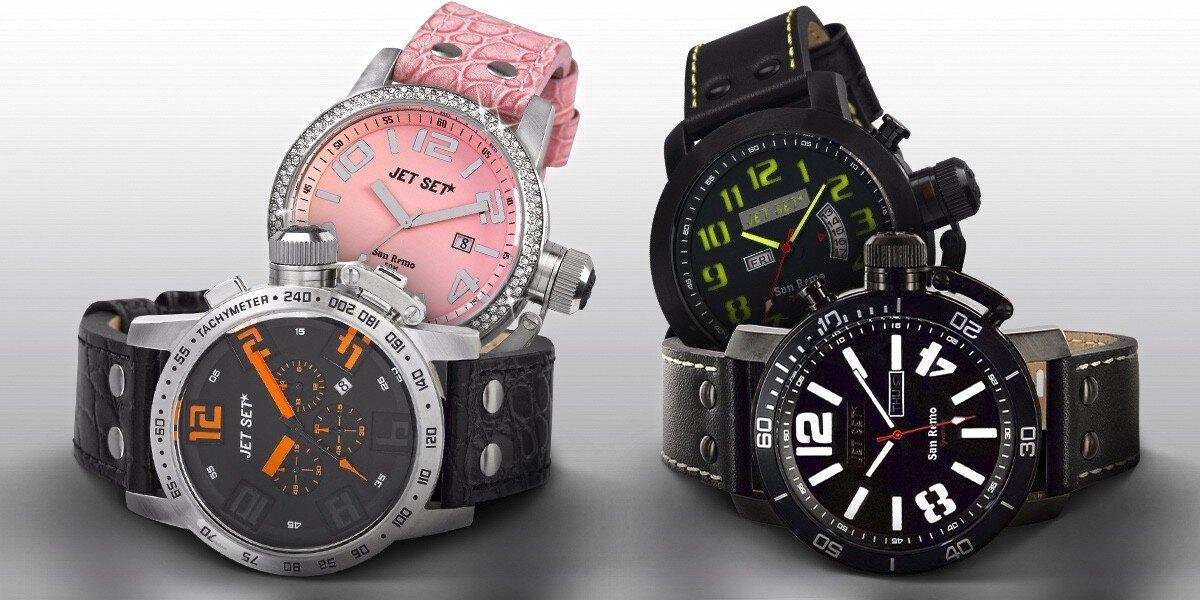 502431c1ae5 Stylové hodinky Jet Set San Remo