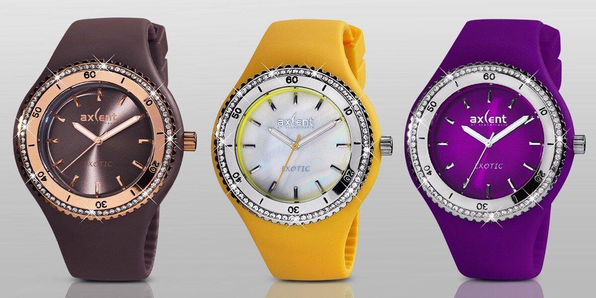 6776eeab0cf Barevné dámské hodinky Exotic