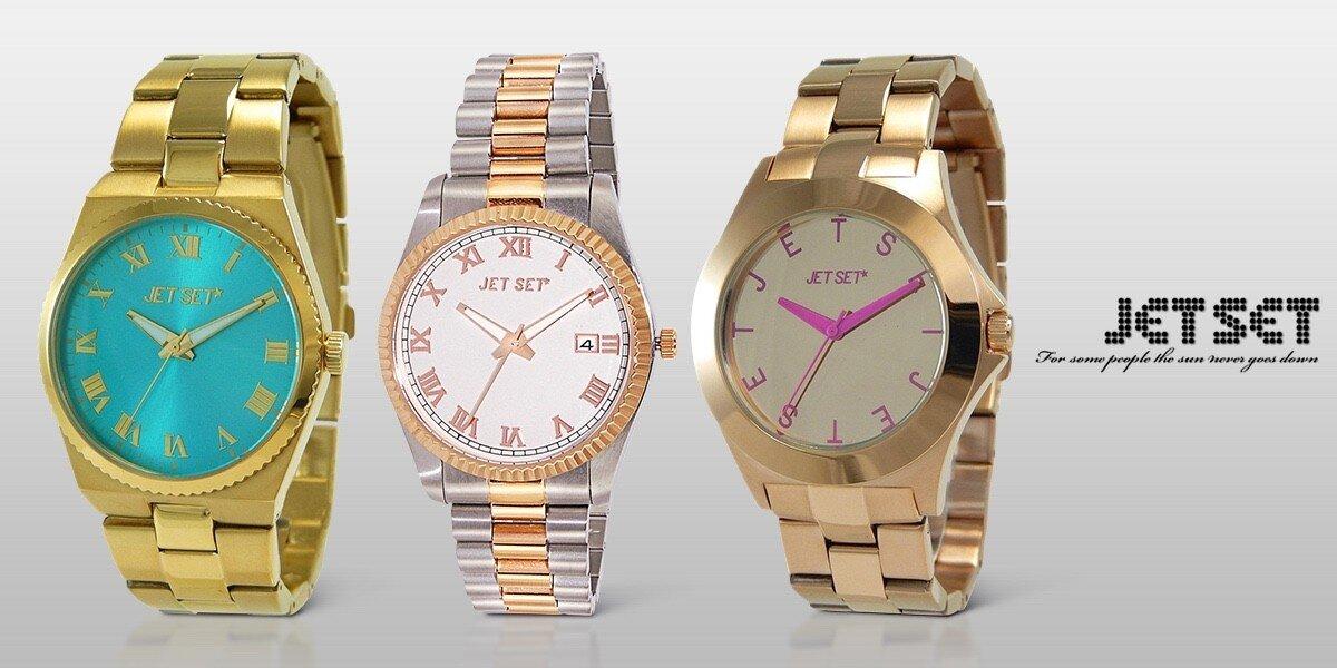 0b952f9a460 Dámské módní hodinky Jet Set
