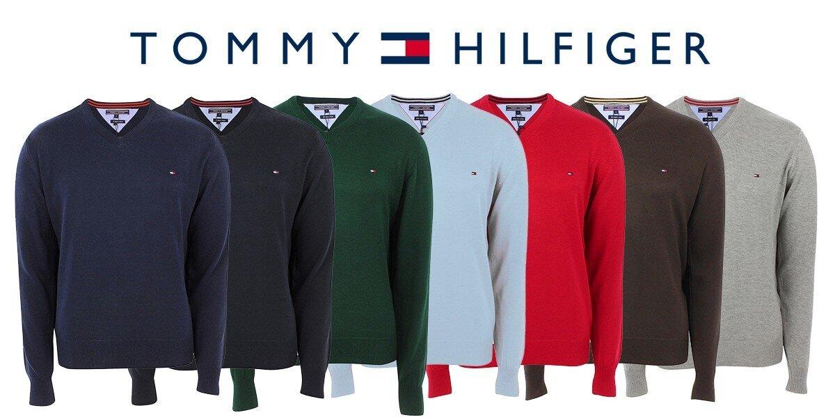 Stylové a pohodlné pánské svetry Tommy Hilfiger  aa82237bc83