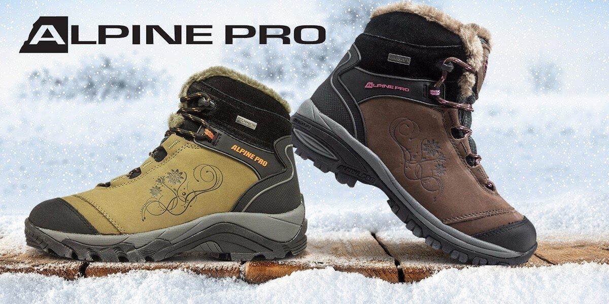 b1a35fc0ed3 Dámské zateplené zimní boty od Alpine Pro