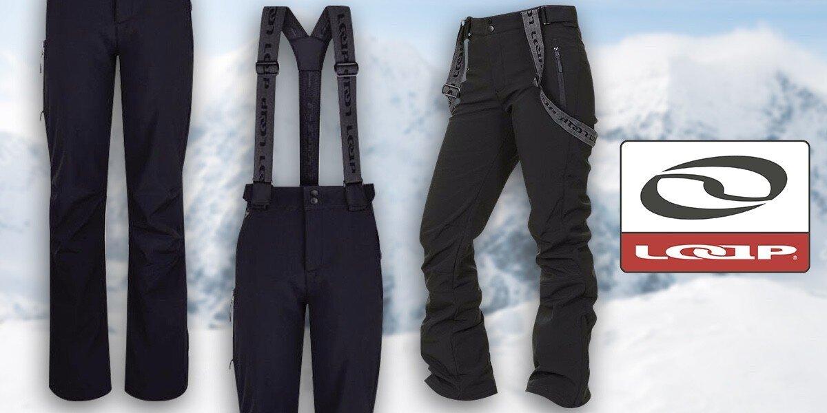 Volnočasové softshellové kalhoty Loap pro aktivní dámy  dc6e67e6966