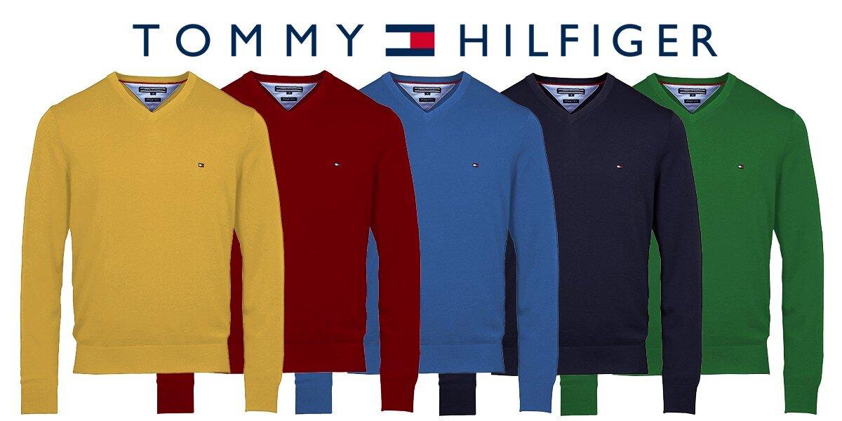 84fd6643305 Stylové pánské svetry Tommy Hilfiger