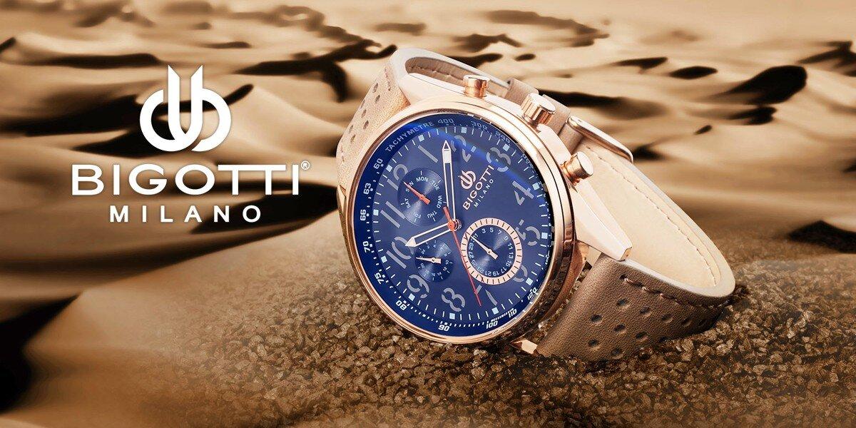 Stylové pánské hodinky Bigotti Milano  d328338b038