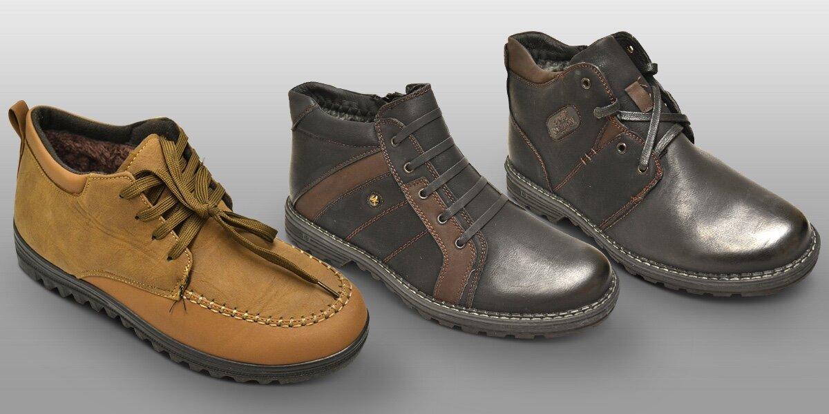 Zateplené pánské boty v kotníkové výšce  2741ac6459
