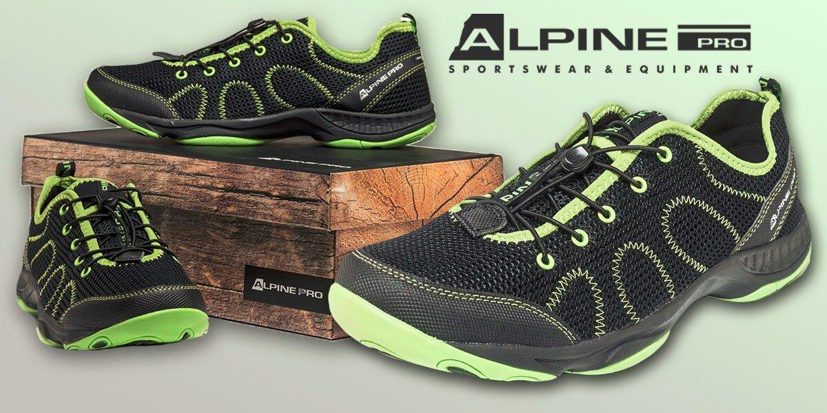 c7af59c08ca Prodyšné pánské boty Alpine Pro