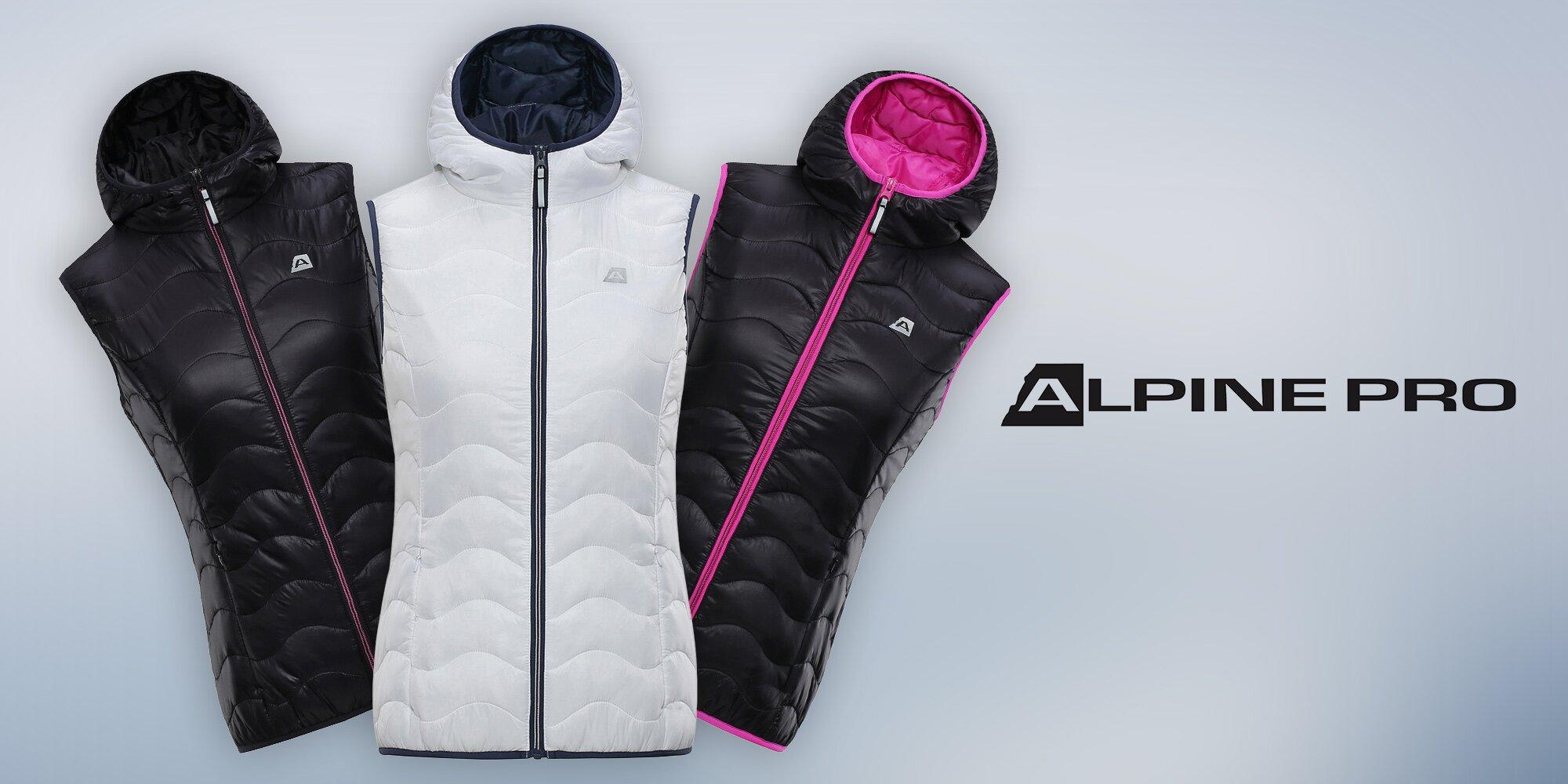 daecde38445c Stylové babí léto  Lehká vesta Alpine Pro
