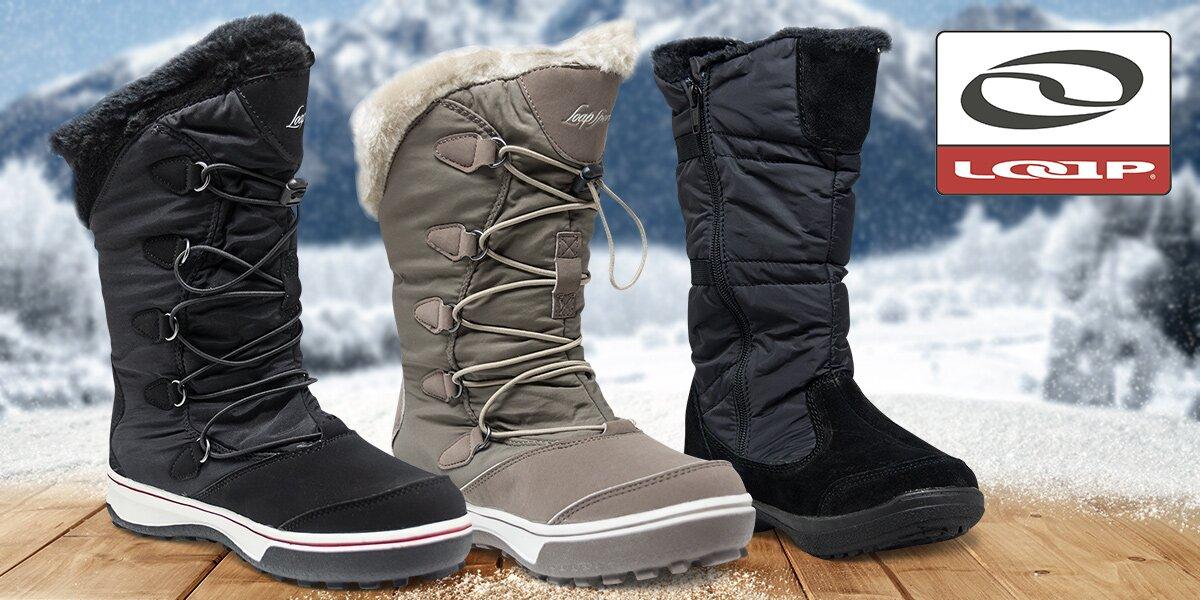 Dámské zimní boty Loap s hřejivou podšívkou  3b992d2b04