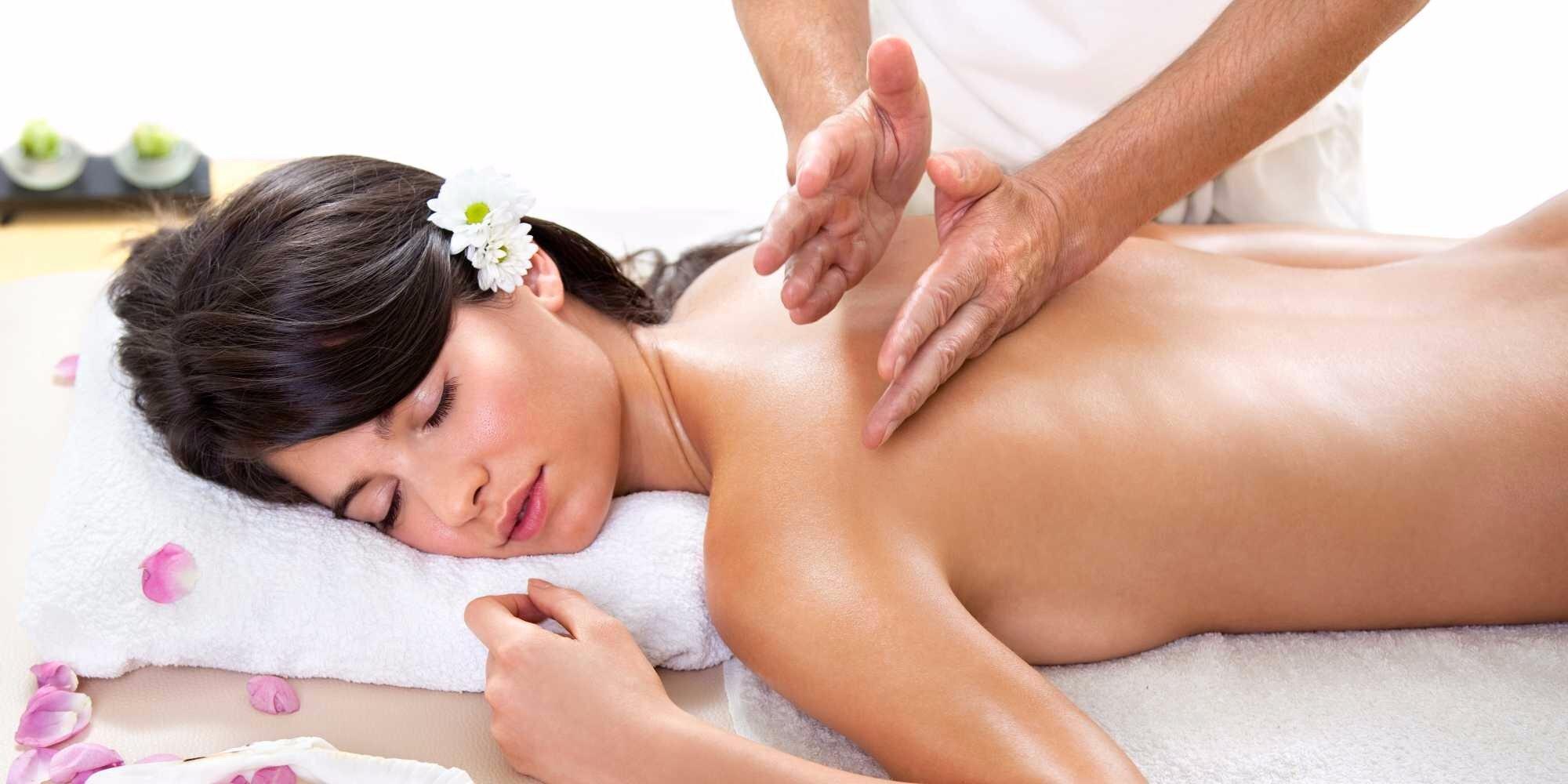 Как сделать женщине массаж расслабляющий