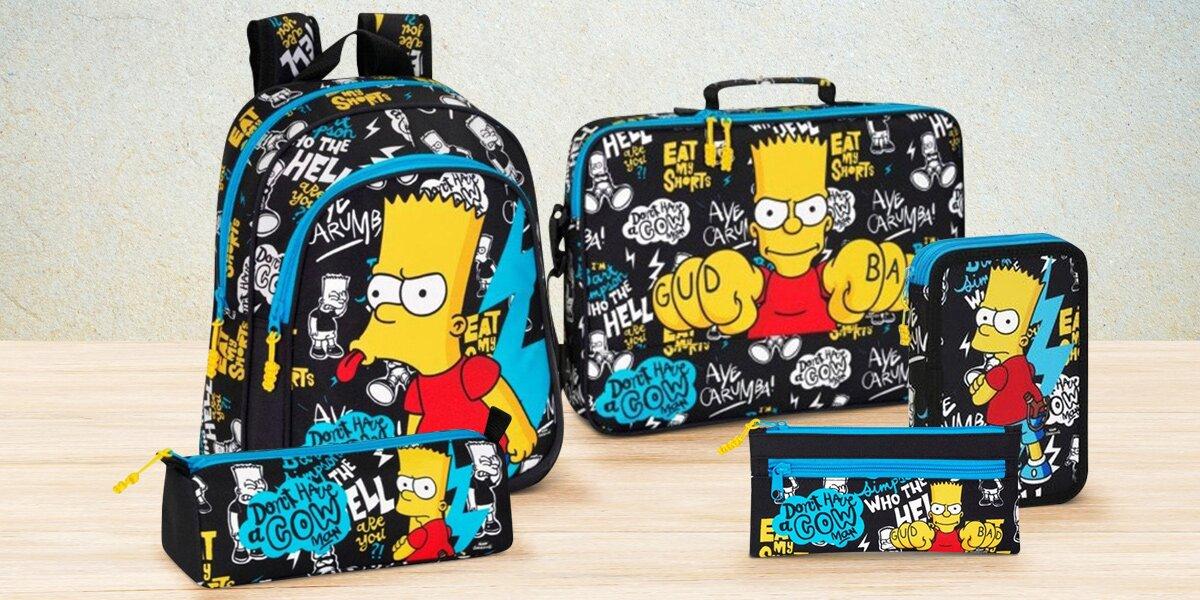 Školní potřeby pro fanoušky Barta Simpsona  61c4a0401a
