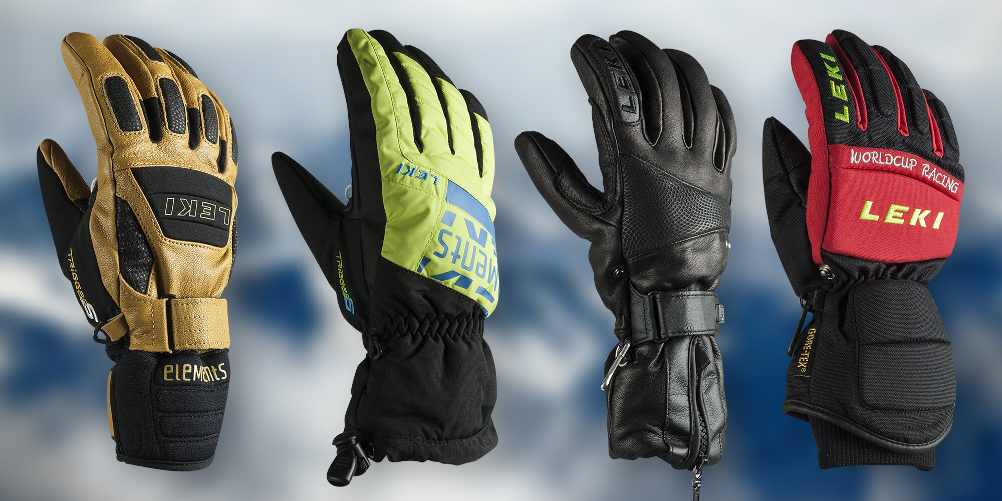 Špičkové lyžařské rukavice značky Leki  a06b61931e