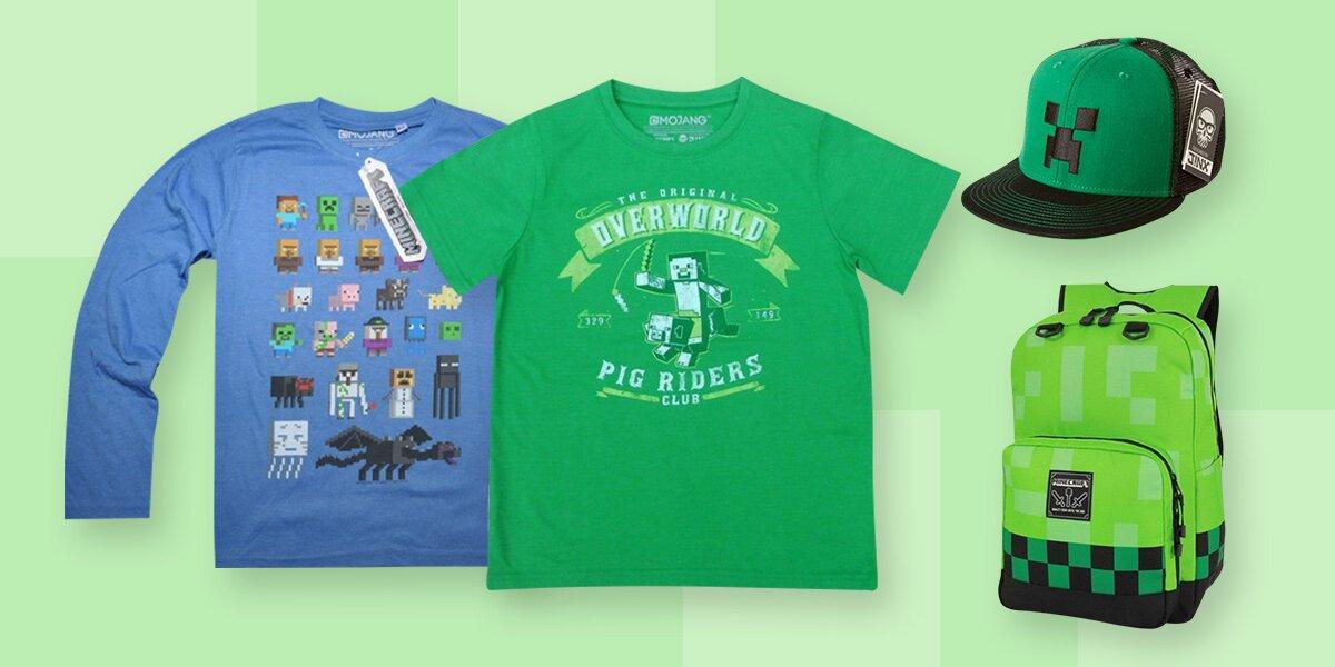 a7415bd6da54 Dětská kolekce oblečení a doplňků Minecraft