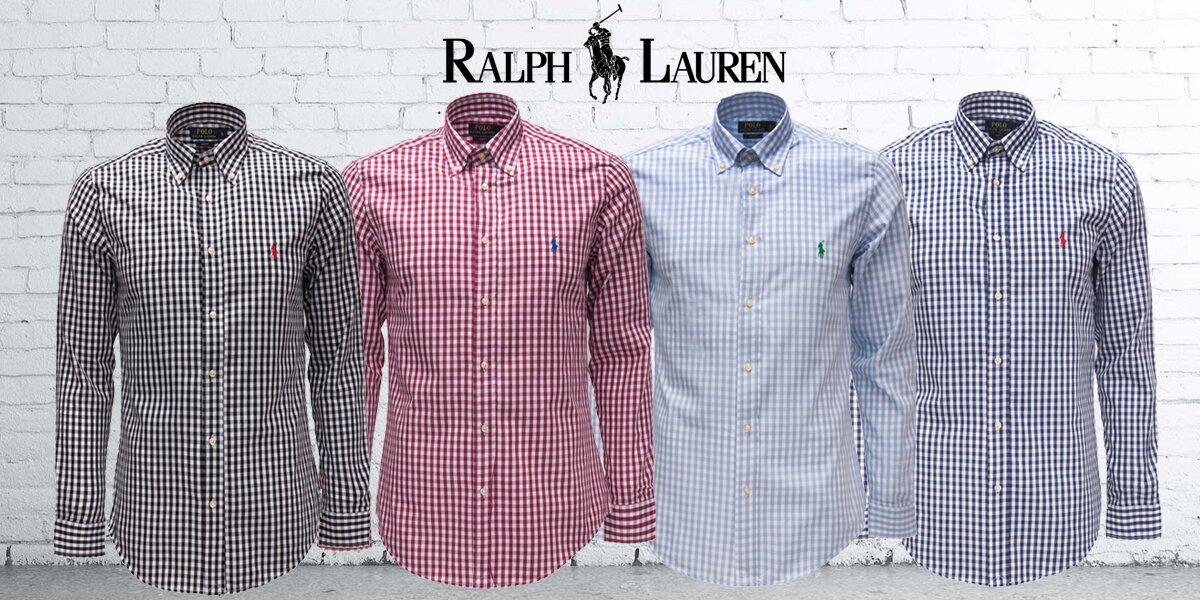 Pánské kostkované košile Ralph Lauren  422d9d4cd9