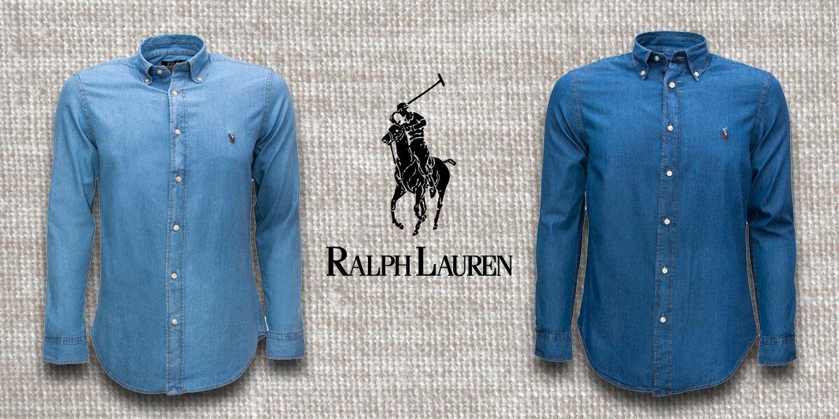 Pánské džínové košile Ralph Lauren Denim  1b16fc5ea8