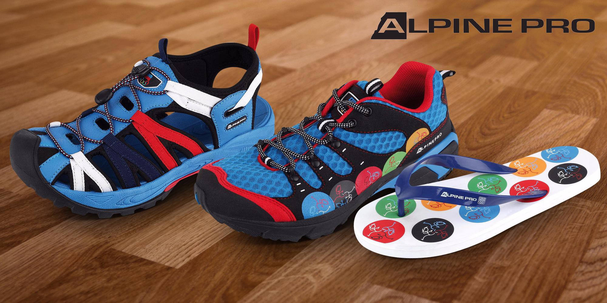 df25b6cbd1 Sportovní obuv z kolekce Alpine Pro OH